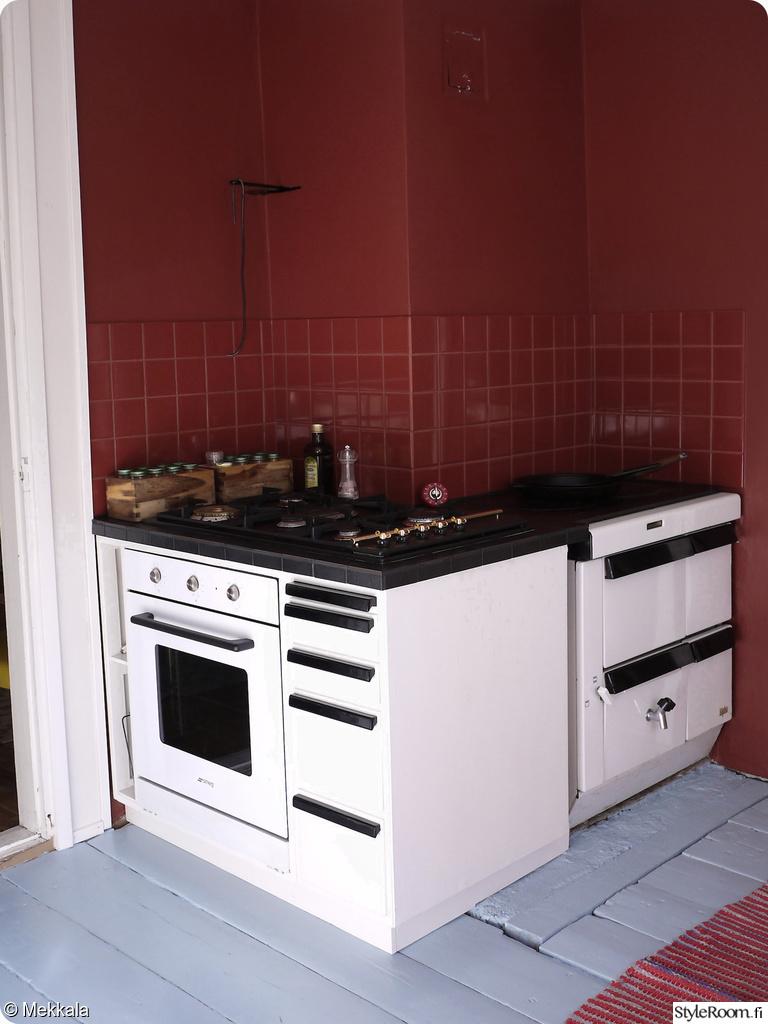 Hyvän mielen keittiö kierrätyskalusteista  Sisustuskuvia