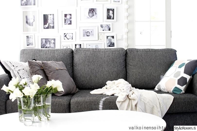 Olohuoneen Sohva : Olohuone,olohuoneen sisustus,sohva,sohvatyynyt,kukka-asetelma ...