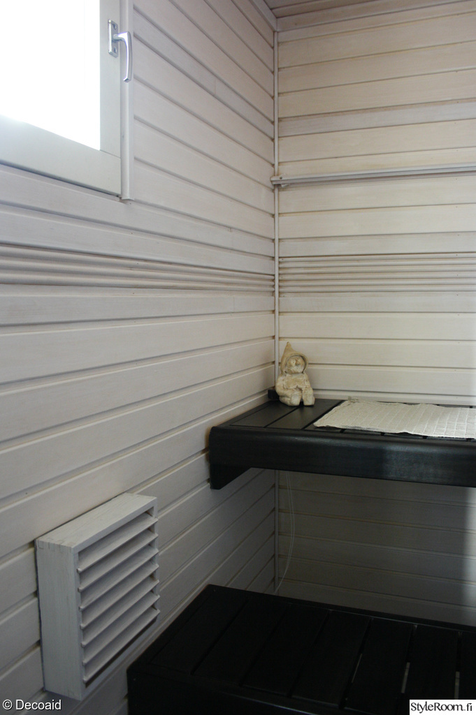 Supi saunavaha valkoinen