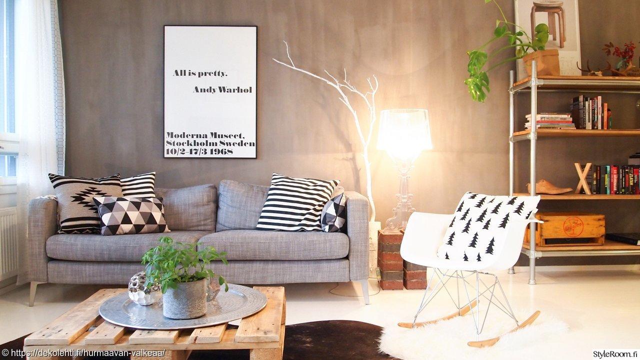 Olohuoneen Sohva : Olohuone,tunnelma,olohuoneen sisustus,valkoinen puu,valkoinen oksa ...