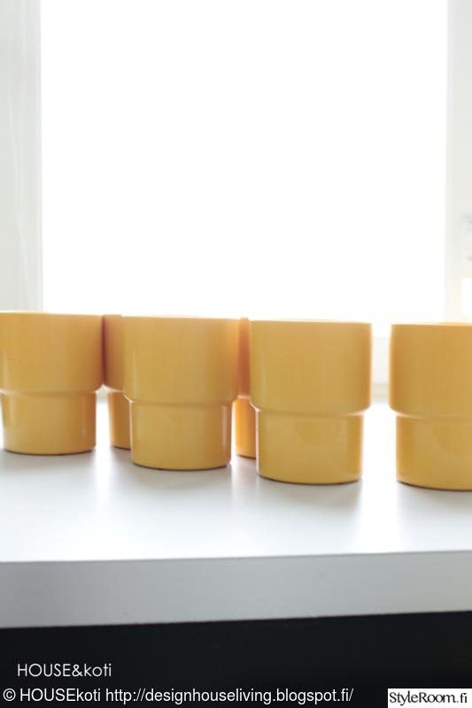 Kuva keittiö  Keltaista keittiössä  HOUSEkoti
