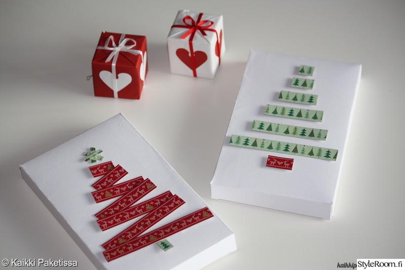 washiteippi,paketointi,paketti,Tee itse - DIY,joululahja