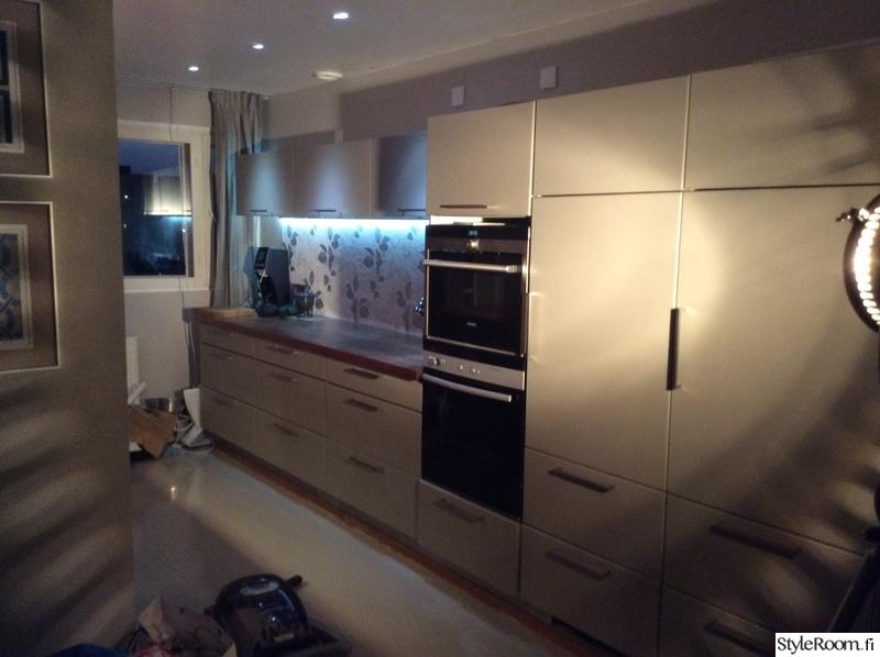 Kuva keittiö  Keittiö  ennen ja jälkeen  TRON