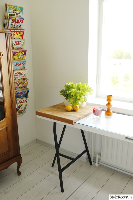 Kuva keittiö  Värejä 50 luvun keittiössä  Kirpparikeiju