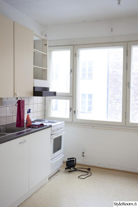 Kuva keittiö  Ennen ja jälkeen Näyttelijän kodin täysremontti  miaehrnrooth