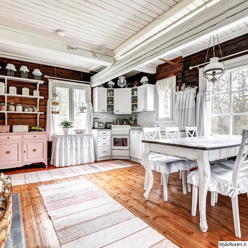 Bild på keittiö  Kotimme ennen ja jälkeen av Torpantunnelmaa
