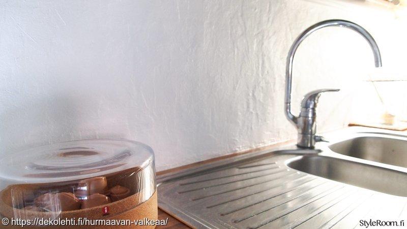 Kuva keittiö  Uusittu keittiö  HurmaavanValkeaa