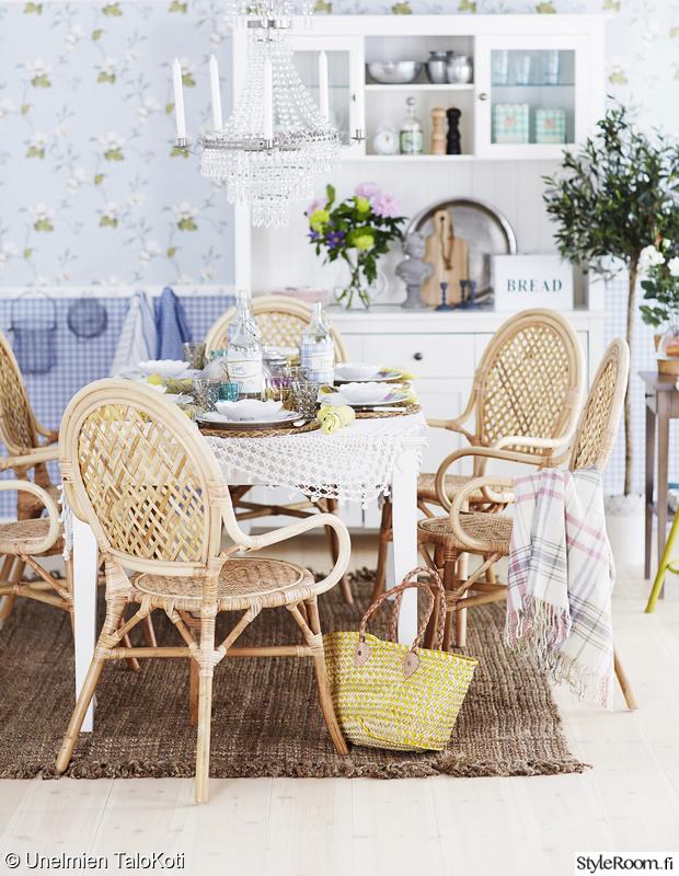 Kuva keittiö  Keväinen ruokailutila  UnelmienTalojaKoti