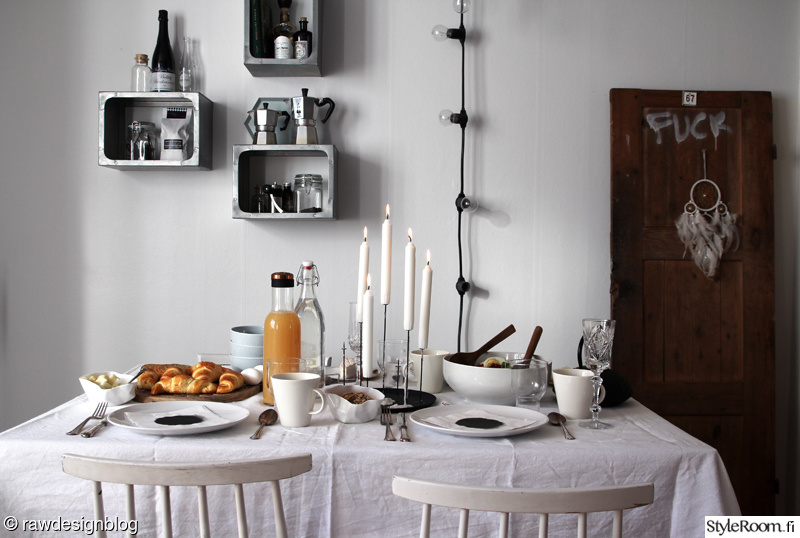 Vanha koti  keittiö  Sisustuskuvia jäseneltä RAWdesignblog  StyleRoom