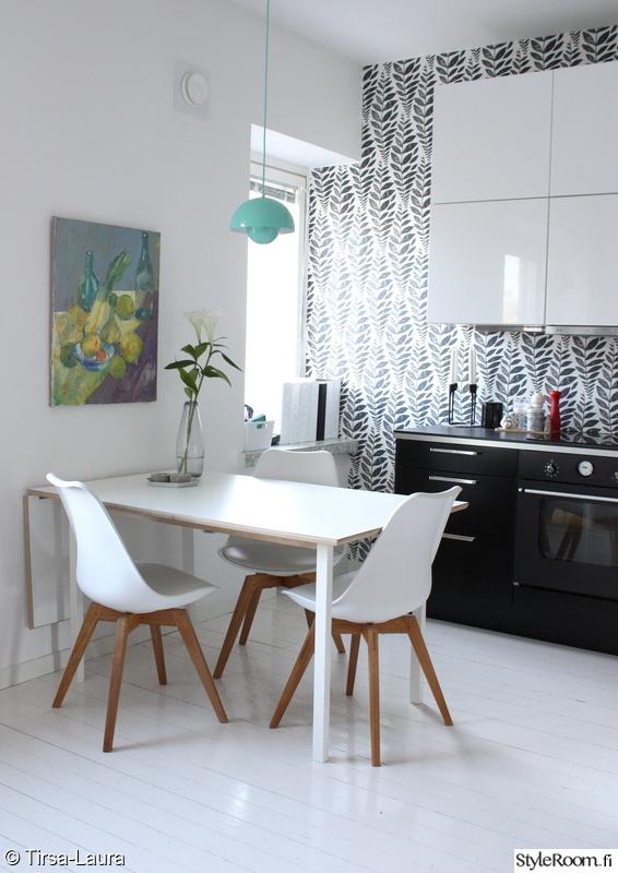 Kuva keittiö  Keittiön tyylivaihdos  Tirsa Laura