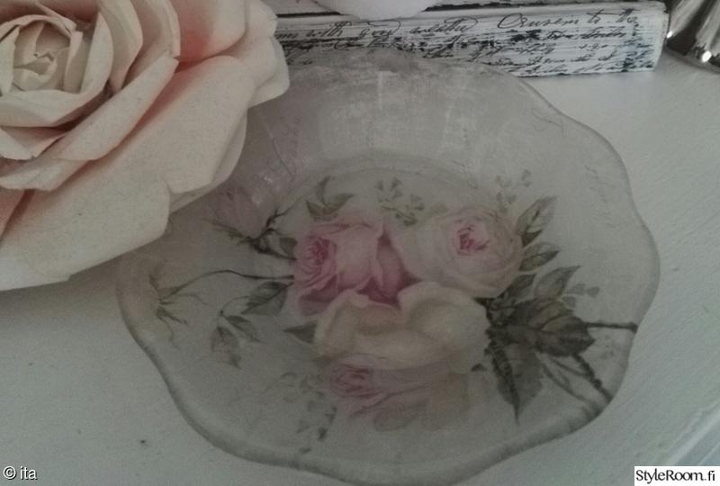 tuunaus,koristelautanen,ruusukuvio