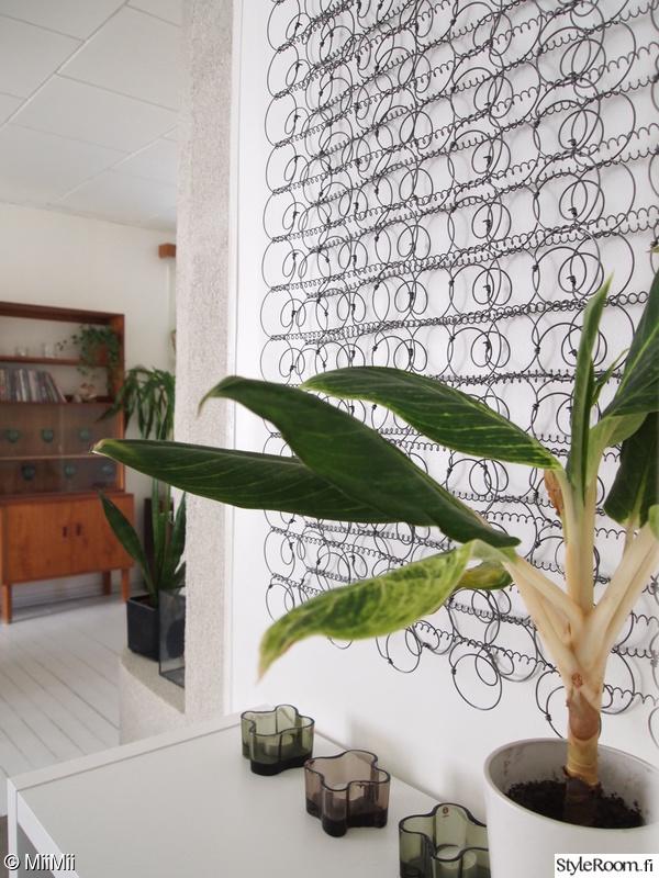 diy,seinäkoriste,iittala,huonekasvi,unelmientalojakoti