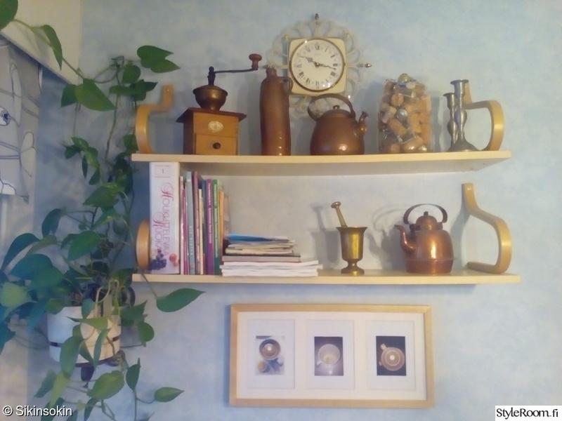 Kuva keittiö  Uutta ja vanhaa sikinsokin  annhelen