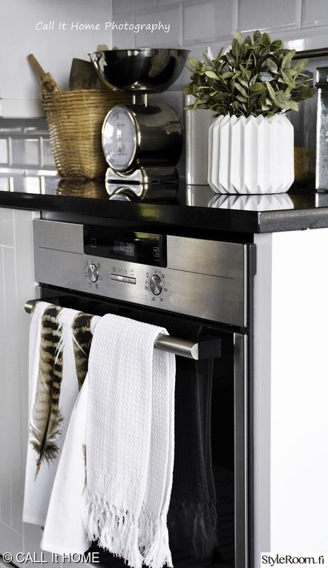 Kuva keittiö  Valkonen keittiöni ja ruokailutila  callithome