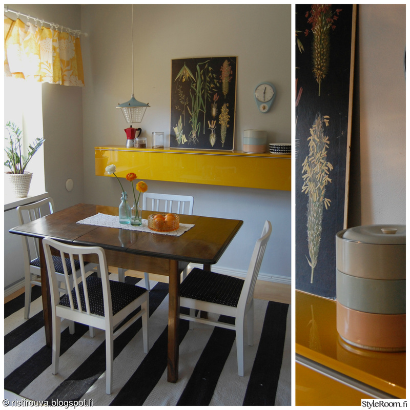 Pieni värikäs keittiö  Sisustuskuvia jäseneltä Ristirouva  StyleRoom