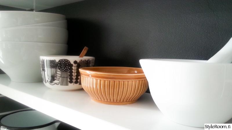 Kuva keittiö  Avokeittiön ja olohuoneen sisustusta  ilonakaroliina
