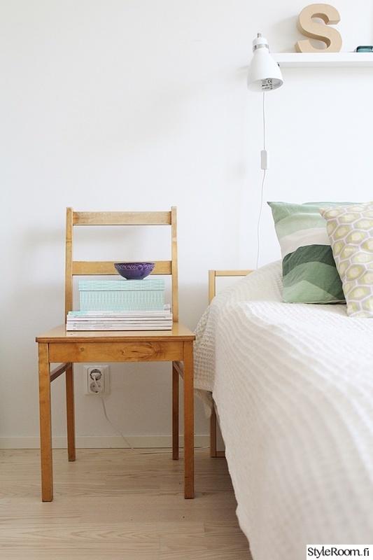 makuuhuone,yöpöytä