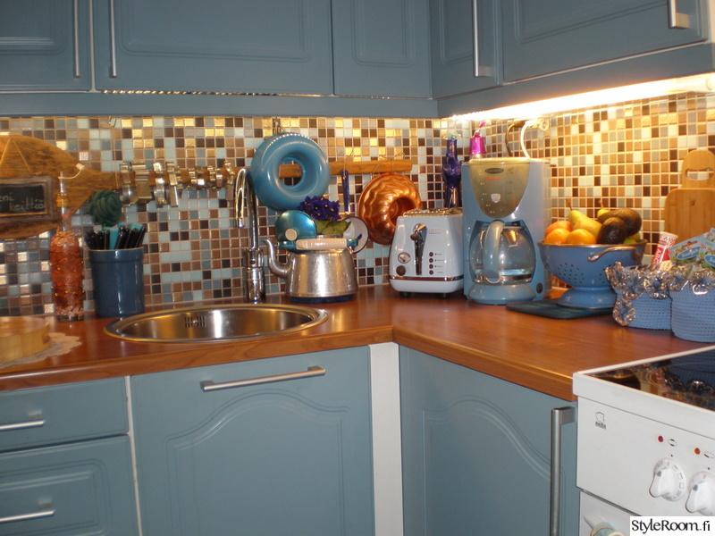 Bild på keittiö  Pieni keittiö av klipsi