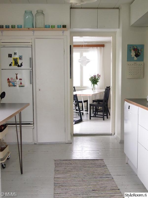 keittiö,ruokailutila,keittiön pikkutavarat,keittiön matto,keittiö sisustus