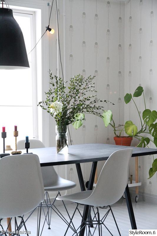 keittiö,ruokailutila,normann copenhagen,hay,viherkasvi