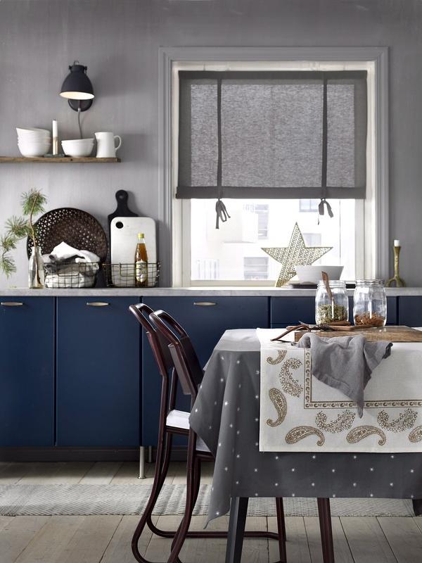 Kuva keittiö  Talvinen kattaus, kutsuva kylpyhuone ja tilaihmeet  Ellos