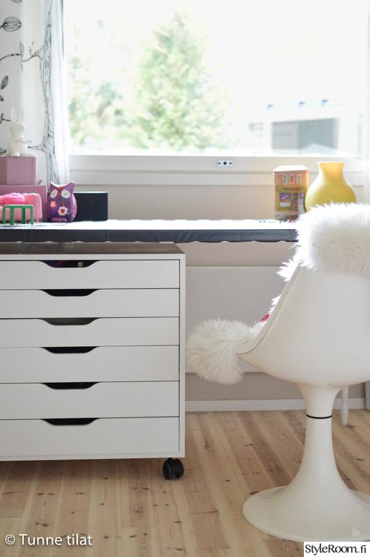 lastenhuone,säilytys,työpöytä