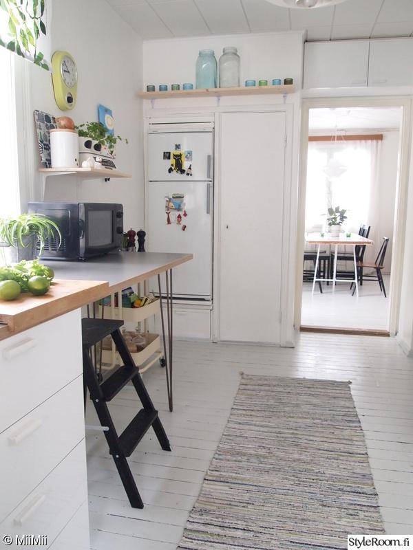 keittiö,keittiön pikkutavarat,työtaso,keittiö sisustus