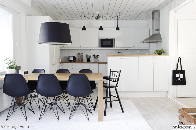 Kuva moderni  Keittiö ja ruokailutila  designwash