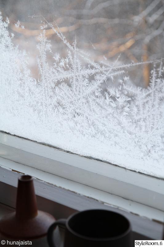 ikkuna,huurre,heli valaja