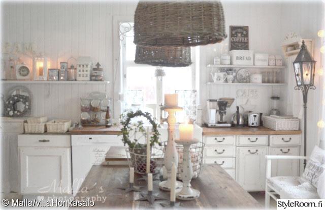 Kuva keittiö  VillaHonkasalon Köökissä  VillaHonkasalo