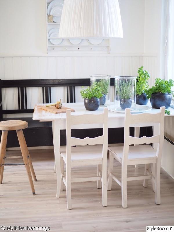 Kuva 3  Yrttitarha keittiönpöyDällä  Mylittlesilverlinings