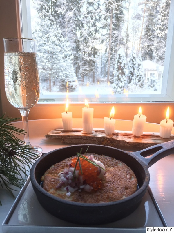 talvi,kynttilät,kynttiläpidike