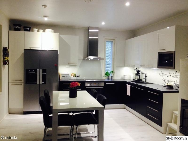 Kuva keittiö  Olohuone keittiö  minski