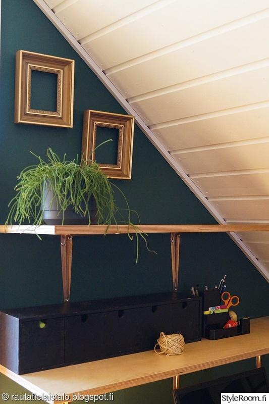 vaneri,tikkurila,aula,kulta,vihreä seinä