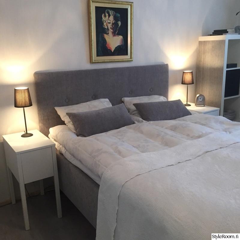 Kuva makuuhuone  Vaalea makuuhuone  heidienjoylife