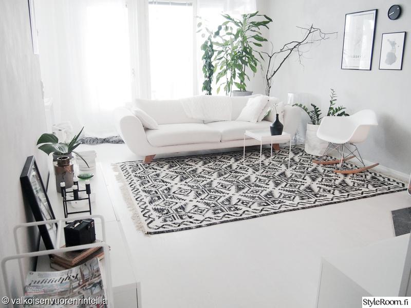 Olohuoneen uusi matto  Sisustuskuvia jäseneltä valkoinenvuori1  StyleRoom