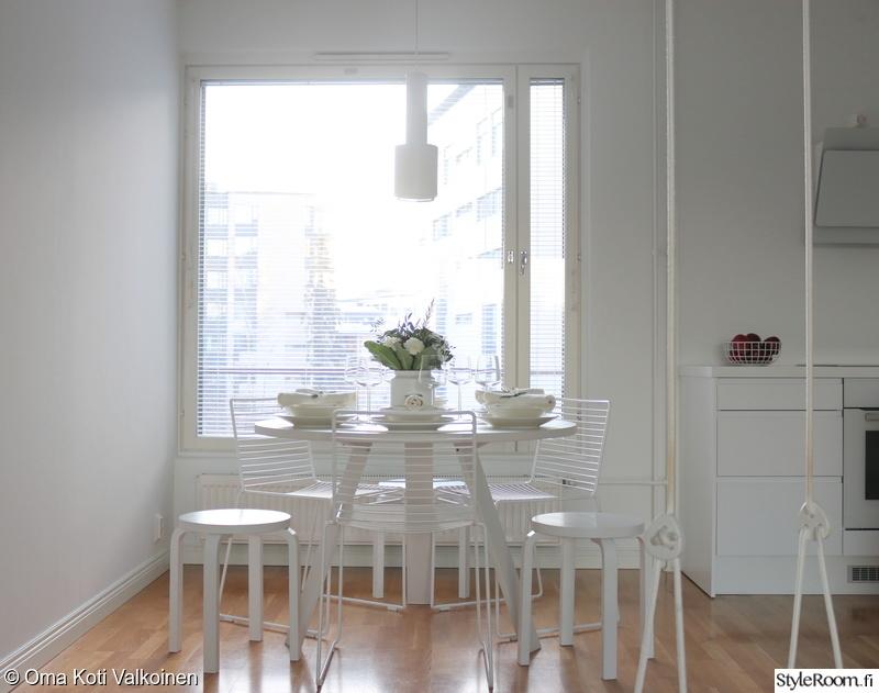 Kuva keittiö  Yksinkertaisen kaunis kattaus kuudelle