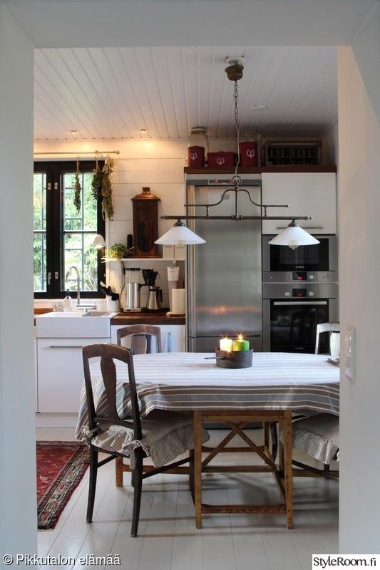 Bild på keittiö  Keittiön valaistus av Pikkutalossa
