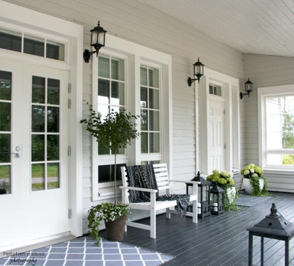 Valkoinen seinä koti ja sisustusideat  StyleRoom