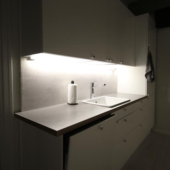 Inspiroivia kuvia aiheesta keittiön valaistus