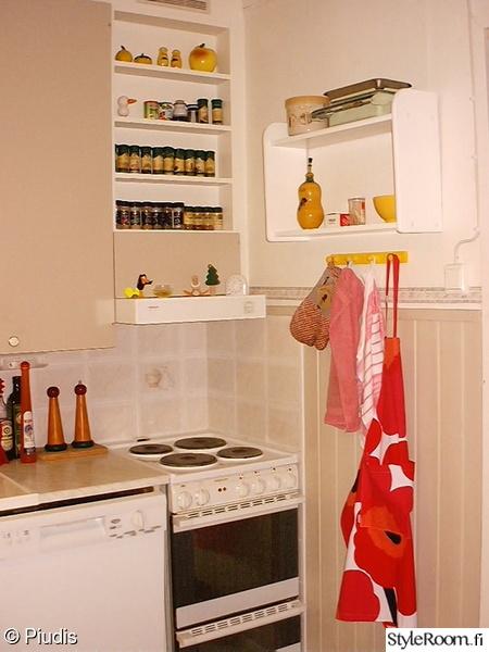 ennen ja jälkeen,sisustushaaste,keittiö,1990-luku,keltainen