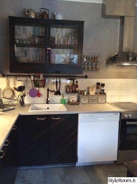 Keittiön säilytysratkaisut koti ja sisustusideat  StyleRoom