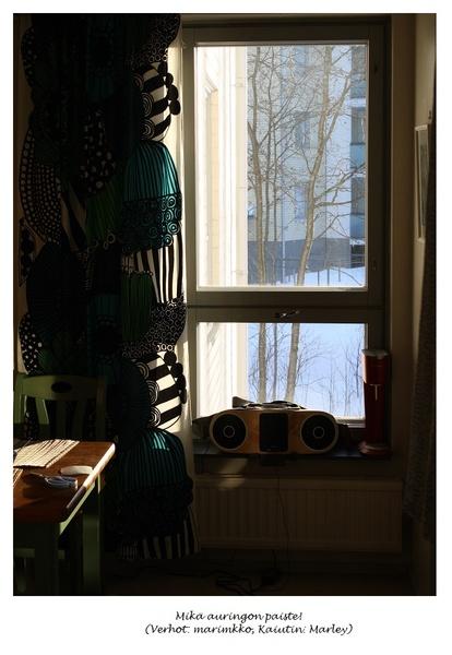 Bild på ikkuna  Keittiö av emmirajavuori