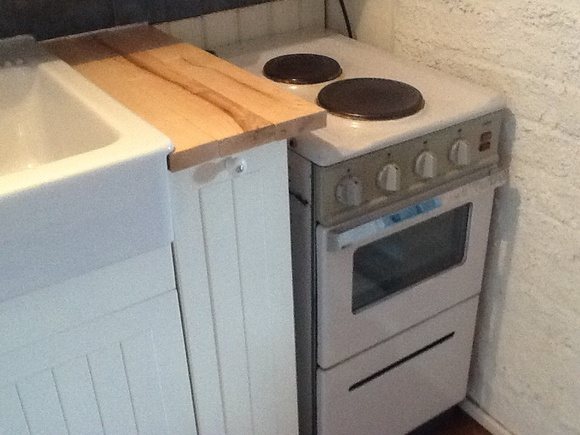 Kuva keittiö  Mökkikeittiön remontti  Sansuo