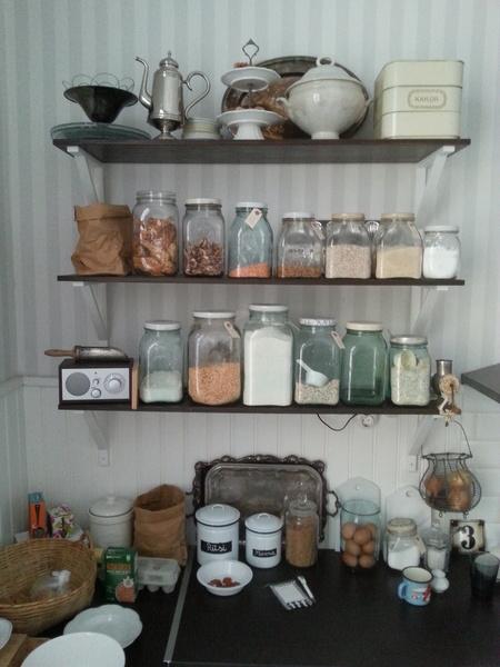 Keittiön avohyllyt koti ja sisustusideat  StyleRoom