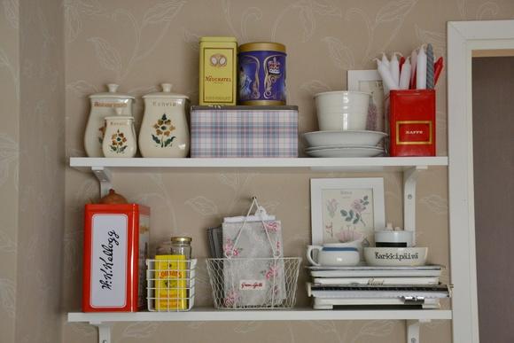 Inspiroivia kuvia aiheesta keittiön hyllyt
