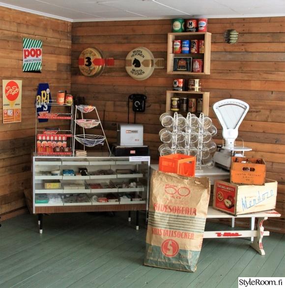 kyläkauppa,unelmientalojakoti,vintage,vanha kauppa,kauppamuseo