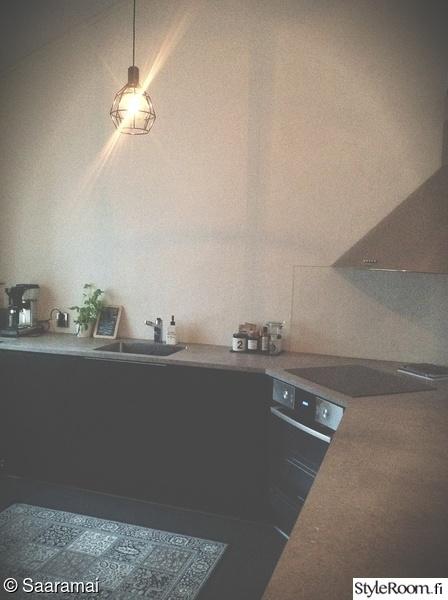Kuva keittiö  Ennen ja jälkeen  SaaraMai