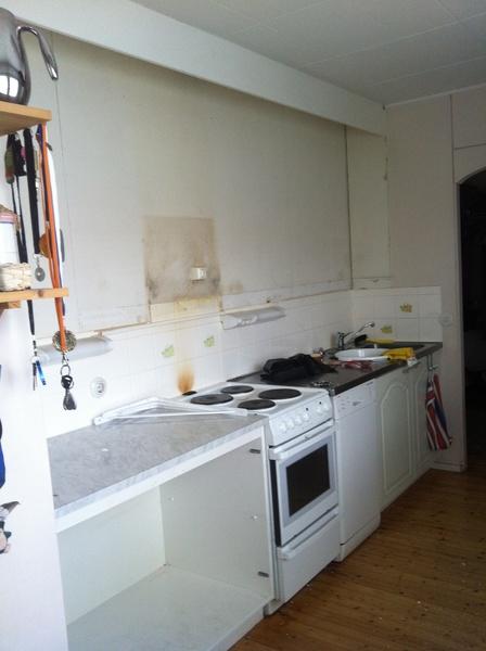 Bild på keittiö  Keittiöremontti, ennen jälkeen av Mesimarja