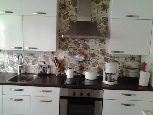 Keittiön välitila tapetti – Talo kaunis rakennuksen julkisivuun